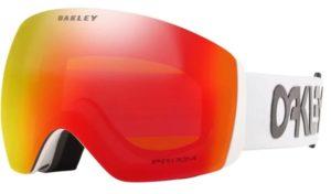 anti fog ski goggles in white from oakley