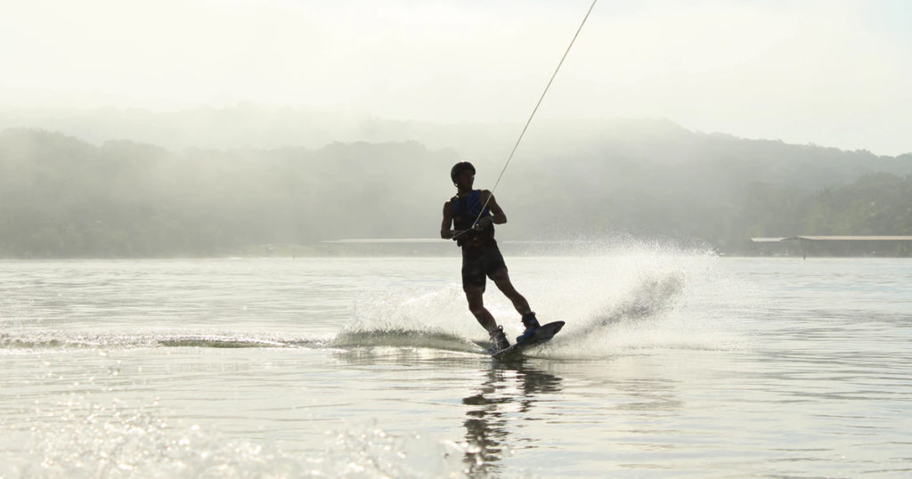 wakeboard towing speed