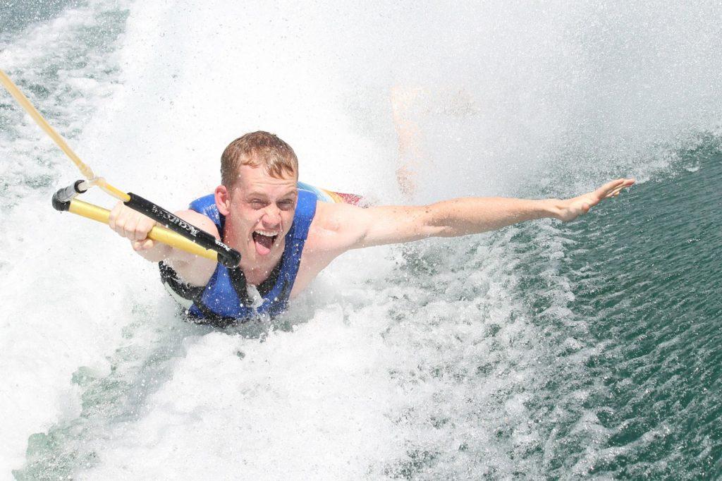wakeboard board rider