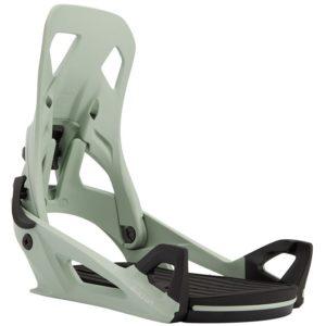 burton snowboard bindings clip up side view