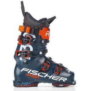 fischer 130 ski boots in blue costing $800