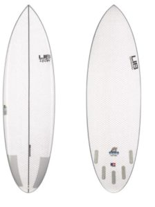 lib tech branded bowl beginner surfboard