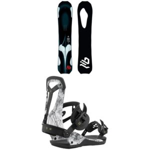mens snowboard package with lib tech board and union bindings